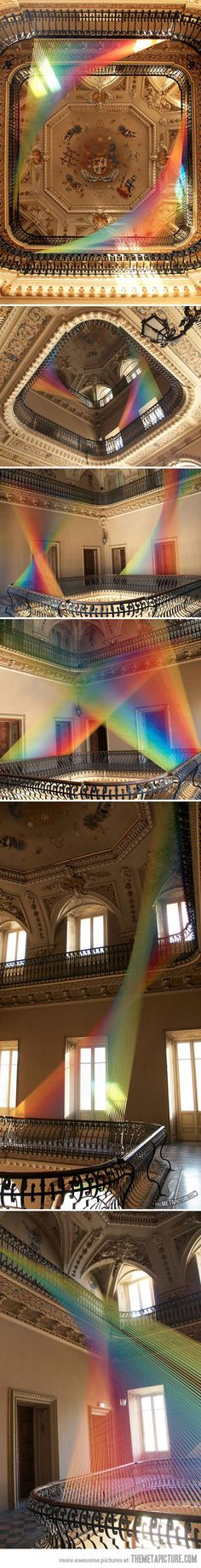 Unbelievable thread installation in Italy…