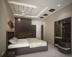 If you are planning to renovate your bedroom interior then you should also decide a good ceiling design for your bedroom. Here are the best modern bedroom ceiling design for you. Interior Ceiling Design, House Ceiling Design, Ceiling Design Living Room, Bedroom False Ceiling Design, Bedroom Bed Design, Modern Bedroom Design, Home Interior, Modern Interior Design, Bedroom Designs