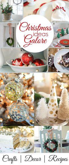 Christmas Diy: Decor Crafts Dessert Recipes and Decorating Ideas | #Christmasideas