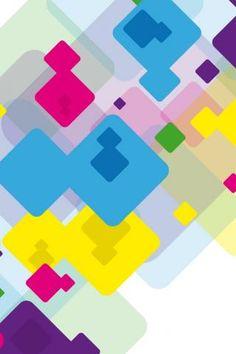colored blocks wallpaper trololo - photo #11