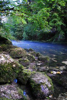 Source de l'Ain Saint Claude, Beau Site, Homeland, Belle Photo, Waterfalls, Nature, Scenery, Around The Worlds, River