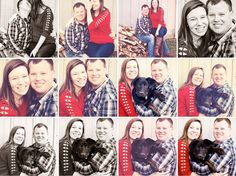 newly pregnant, christmas, family, new puppy photos