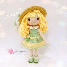 Happy Saturday *^_^* 💕I am pattern tester for this beautiful doll ~The Sunshine Girl 阳光少女 - Sunni。珊倪 ☀🍃(Pattern by @jeslynsimlg ) English pattern will be available in her Esty Shop soon 💕https://www.etsy.com/sg-en/shop/RainbowConnex