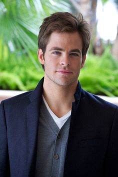 Chris Pine. Why is he so beautiful? And so much older than me? :'(