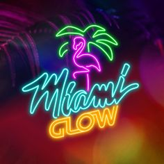 Play now, only on 18bet.com Miami Glow, Online Casino Games, Casino Bonus, Neon Signs, Play