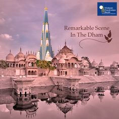 The magnificent Chandrodaya Mandir will be an amazing sight in the holy dham ! Join hands-