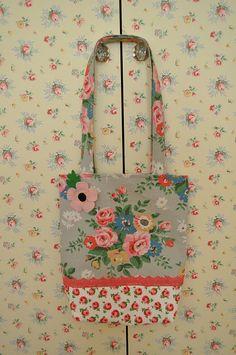 lovely flower bag