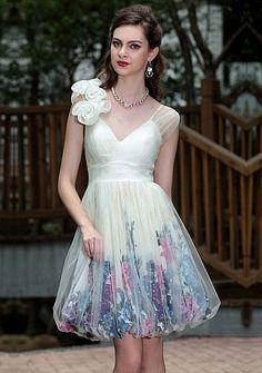 minihems.com short floral dresses (36) #shortdresses