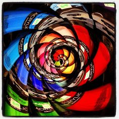 Fun with the #tinyplanet app… just ordinary acrylic paints otherwise!
