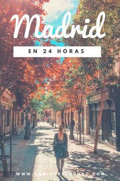 Si están poco tiempo en Madrid acá tienen el mejor itinerario para optimizar al máximo el tiempo! #madrid #españa #itinerary #spain