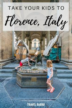 Florence, Italy.  Find out why Florence is a fantastic destination for families with children, even toddlers. Check out these tips on what to do and where to go with kids in tow. Get great ideas to plan a fun itinerary!! #FlorenceItaly #FlorenceWithKids #ItalyTravel #TravelWithKids #ItalyWithKids