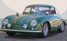 Oh so nice Porsche 356.
