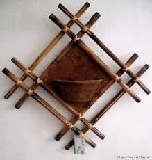 Resultado de imagem para artesanato em bambu gigante