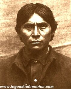 Said to have been the fiercest Apache next to Geronimo, as well as a notorious outlaw of the late 19th century, was the Apache Kid.