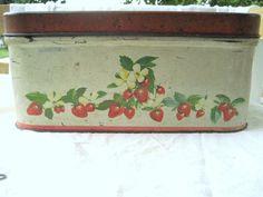 Strawberry bread box
