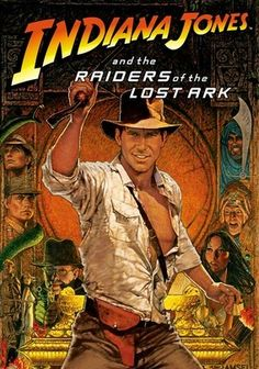 "The was a decade of Indiana Jones action movies. In 1981 was the release of ""Indiana Jones and the Raiders of the Lost Arc"". In 1984 was ""Indiana Jones and the Temple of Doom"", and in 1989 was ""Indiana Jones and the Last Crusade"". 80s Movies, Action Movies, Great Movies, Movies To Watch, Movies Free, Awesome Movies, Movies Of The 80's, Action Film, Iconic Movies"
