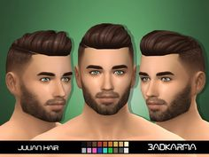 Base Game Compatible. Found in TSR Category 'Sims 4 Male Hairstyles'