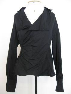 d697fe2a3 camisa estilosa com zíper lateral - camisas bleu foncé