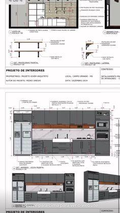 Interior Design Sketches, Office Interior Design, Interior Decorating, Modern Kitchen Interiors, Modern Kitchen Design, Estilo Interior, Interior Design Presentation, Sims House Design, House Furniture Design