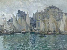 Claude Monet The Museum at Le Havre (1873)oil on canvas