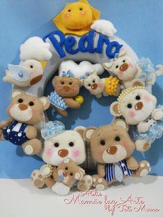 Guirlanda Família Urso do Pedro