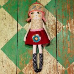 Doll: . by bridgett