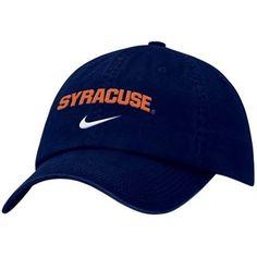 f9d6df915cd Nike Syracuse Orange Navy Blue Campus Adjustable Hat