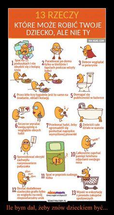 13 rzeczy, które może robić twoje dziecko, ale nie ty #mamapracuje.pl