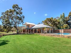 For Sale: Bring the Horses  Catering for everyone in the family, this property combines superb outdoor entertaining and a luxurious appointed home.  #WesternAustralia #ForSale #ForSale #RealEstate #LuxuryRealEstate #HorseProperty #AcreageProperty #Equine #Equestrian