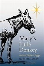 Image result for picture of mary on donkey