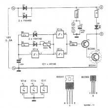 220V AC speed controller circuit controls the speed of