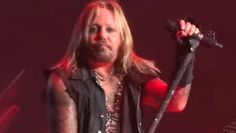 """MÖTLEY CRÜE singer Vince Neil paid tribute to iconic MOTÖRHEAD frontman Ian """"Lemmy"""" Kilmister during CRÜE's December 28 concert at Staples Center in Los Angeles.  """"We lost a true legend today, Le..."""