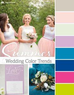 Top 2016 Wedding Color Trends: Spring, Summer, Fall, Winter | MagnetStreet Weddings