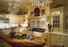 Кухня в английском стиле (фото): уютный консерватизм