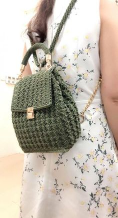 Marvelous Crochet A Shell Stitch Purse Bag Ideas. Wonderful Crochet A Shell Stitch Purse Bag Ideas. Crochet Backpack Pattern, Free Crochet Bag, Crochet Purse Patterns, Crochet Shell Stitch, Crochet Gifts, Crochet Baby, Knit Crochet, Crochet Wallet, Crochet Handbags