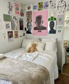 My New Room, My Room, Dorm Room, Room Ideas Bedroom, Bedroom Decor, Bedroom Inspo, Dream Rooms, Dream Bedroom, Indie Room