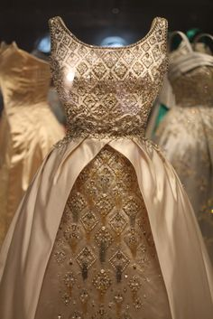 Queen Elizabeth gown, at Kensington Palace, London, England