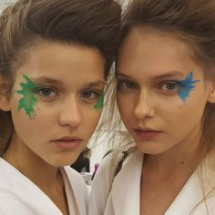 Makeup Tutorial: How To recreate Issey Miyake SS16 makeup Image by Alex Box