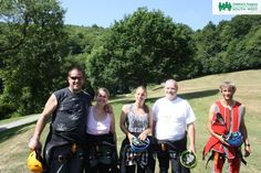 Children's Hospice South West Abseilers at Canonteign Falls.  Find out more about our other abseil events here >>  www.chsw.org.uk/abseil #chsw #abseil