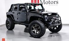 2015 Jeep Wrangler Unlimited Rubicon w/Hardtop Jeep Wrangler Unlimited, Blacked Out Jeep Wrangler, Jeep Wrangler Rubicon, Jeep Jk, Jeep Truck, Jeep Grand Cherokee Accessories, Custom Jeep, Custom Trucks, Jeep Mods