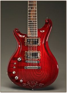 Beautiful Red Guitar
