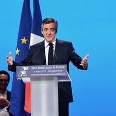 Francois Fillon presents his election campaign project in Paris (328182)