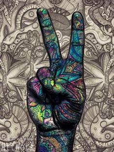 #hippie #hippy #paz #love #tranquilidad #hope