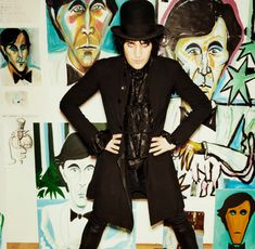 Noel Fielding's Bryan Ferry collection