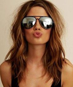 medium length straight brown hair with layers - Google Search