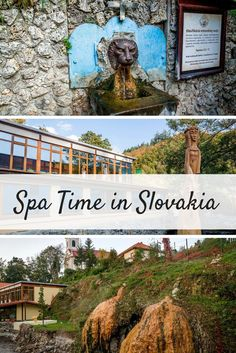 The thermal hot springs of Sklene Teplice, Slovakia, make for a great spa experience