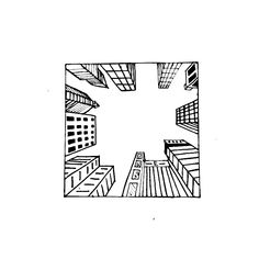 1 Point perspective drawing