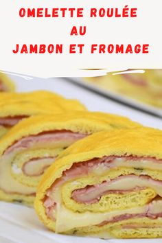 Omelette Roulée, Brunch, Pancakes, Sandwiches, Breakfast, Simple, Food, Recipes, Snapchat Ideas
