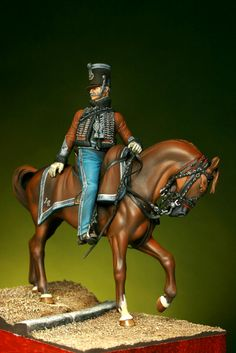 Capitaine 14eme Hussards. By Enrico Azeglio