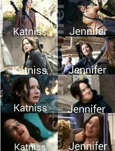 The last one seems a little both like Jen doesn't it. The last one seems a little both like Jen doesn't it. Hunger Games Jokes, Divergent Hunger Games, Hunger Games Cast, Hunger Games Fandom, Hunger Games Catching Fire, Hunger Games Trilogy, Jennifer Lawrence Funny, Jenifer Lawrence, Tribute Von Panem